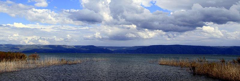 Sea of Galilee near Magdala, magdala.org