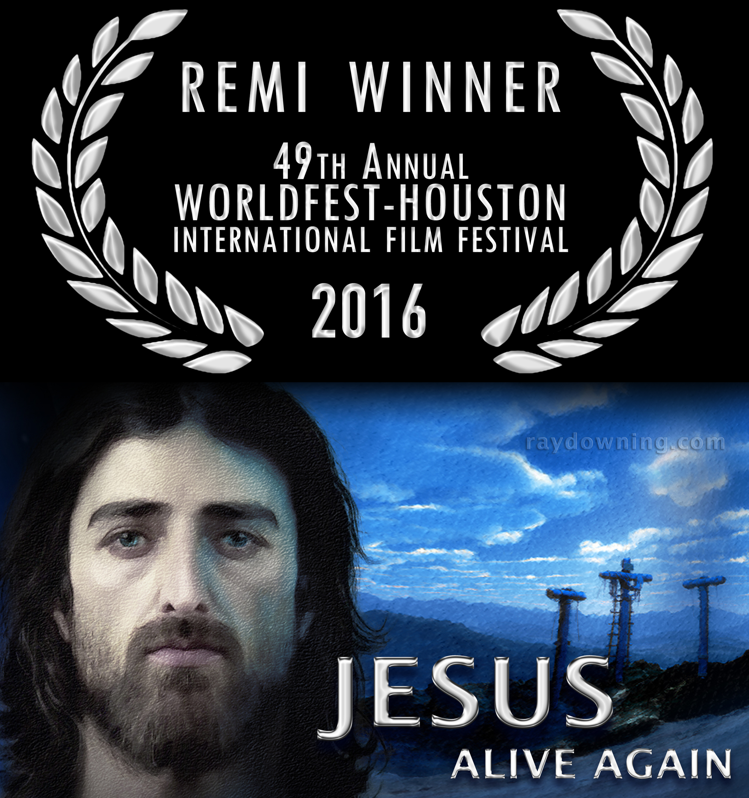 Jesus Pictures DVD Alive Again Ray Downing Remi
