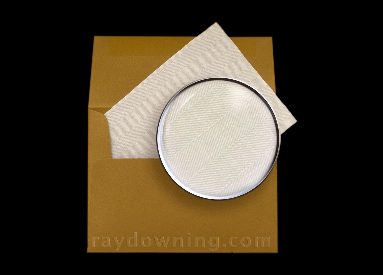 Shroud of Turin real fabric sample