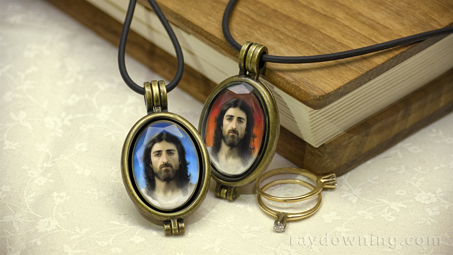 Jesus Pendant Shroud of Turin Ray Downing