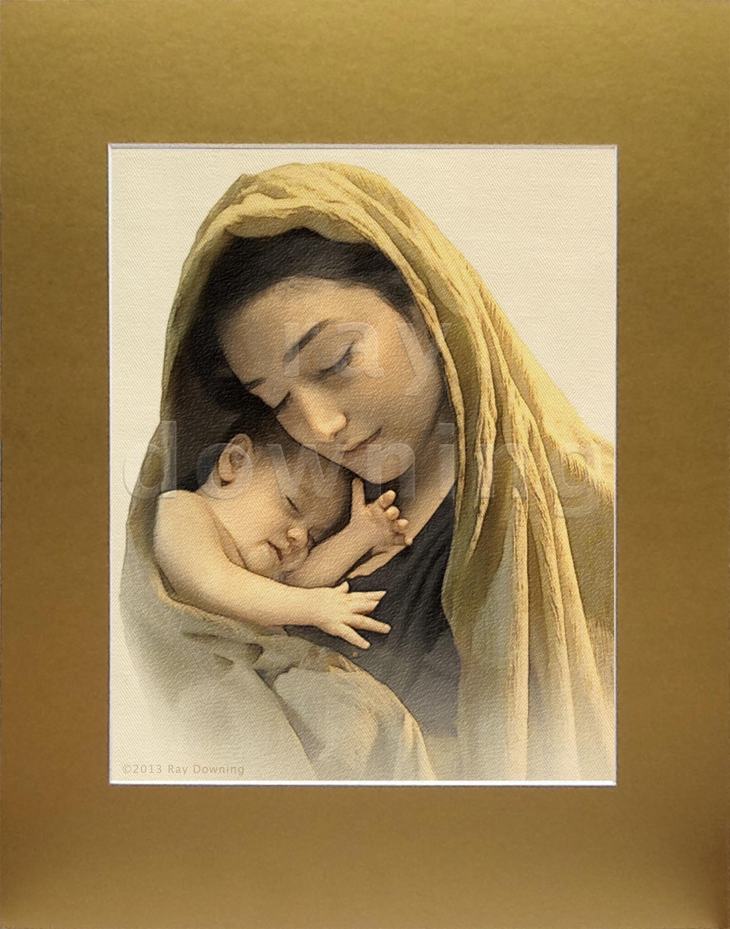 Mary and baby Jesus Ray Downing