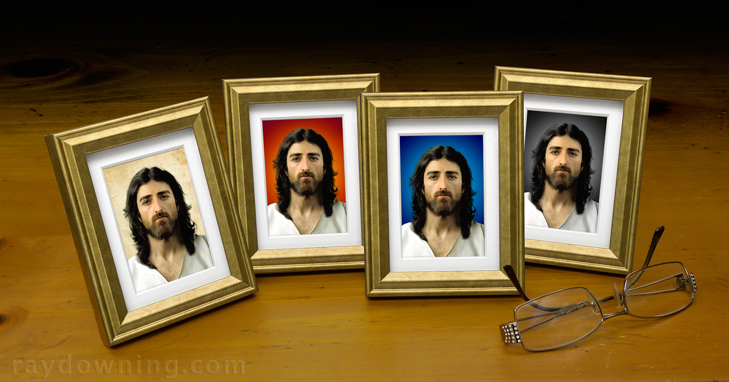 Jesus Pictures Mini Frame Ray Downing