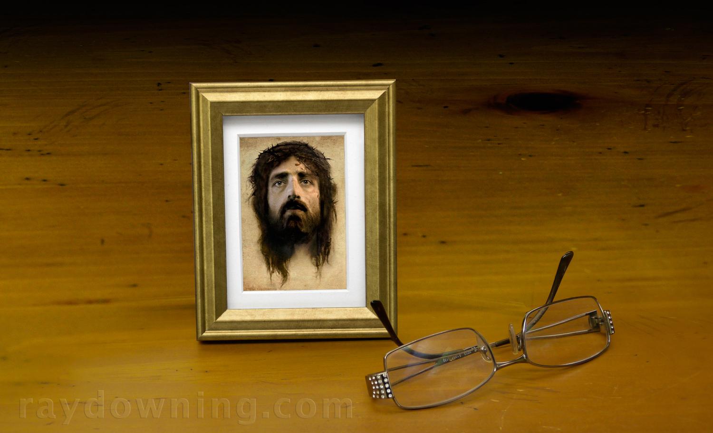 Jesus Veronicas Veil Ray Downing Shroud of Turin