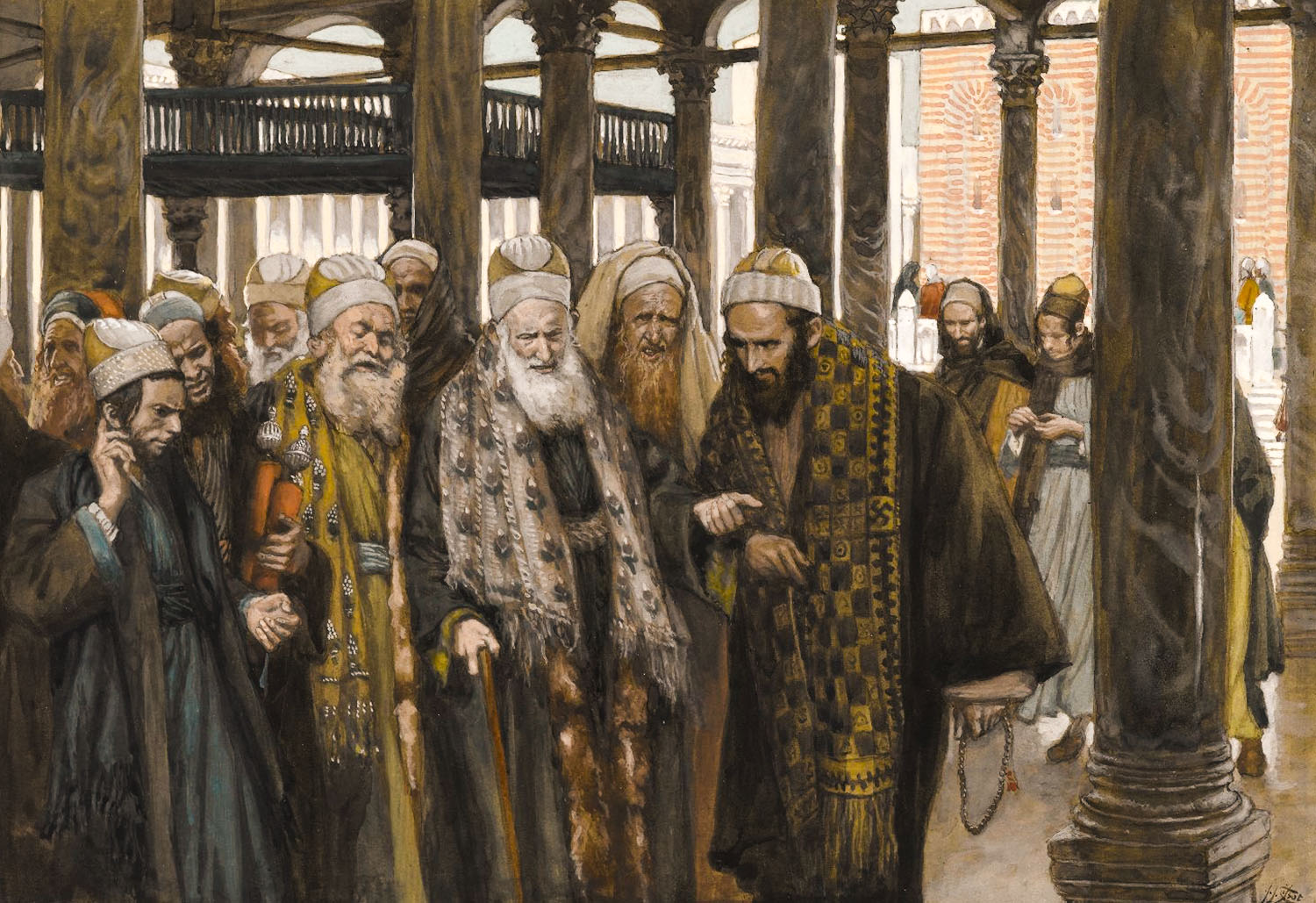 Chief priests take counsel together.jpg