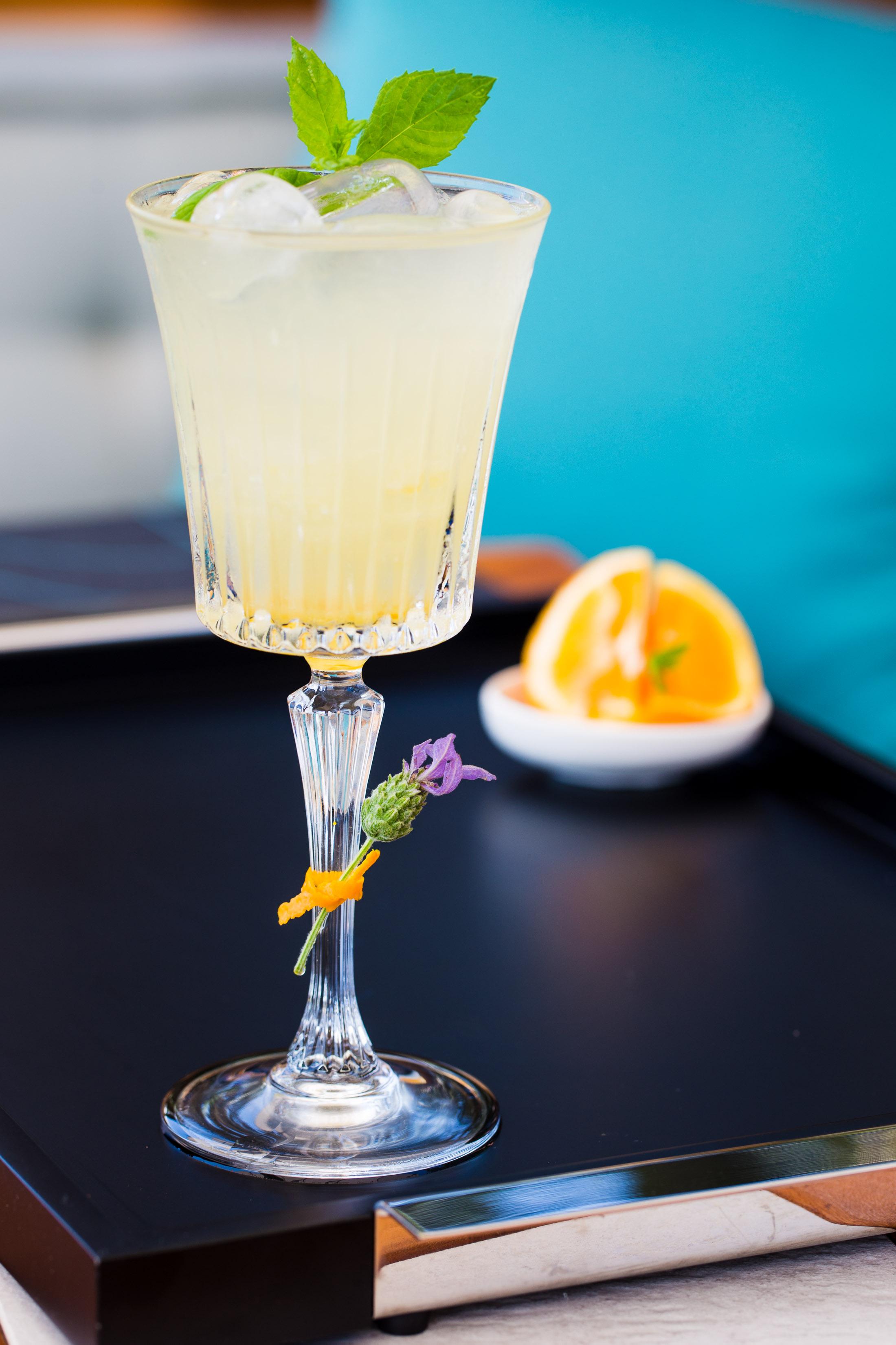Orange Marmalade Fizz - Chase marmalade vodka, lime juice, orange bitter, bitter orange marmalade, 1724 tonic.
