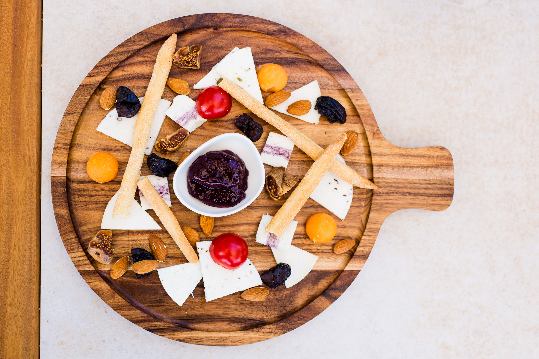Goat cheese selection -