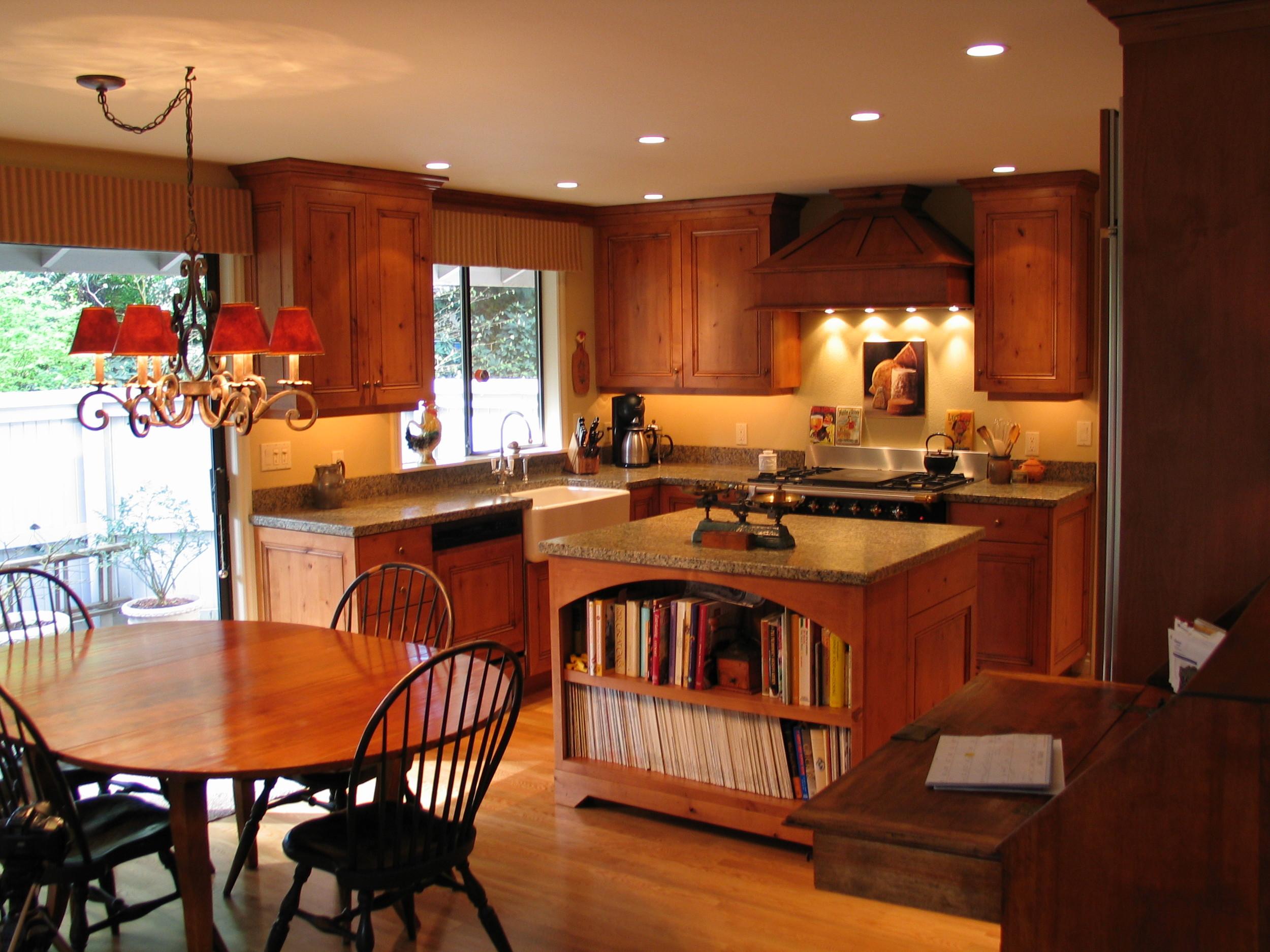 Town house kitchen