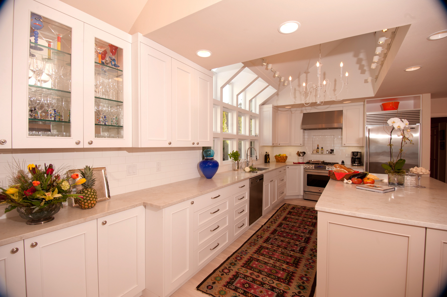 Mercer Island transitional kitchen
