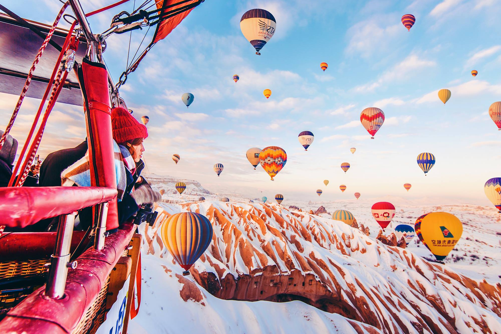 A breath-taking series of images showing the famous hot air balloons of Cappadocia - Lonely Planet Travel News. Article by James Gabriel Martin. Photographs by Kristina Makeeva