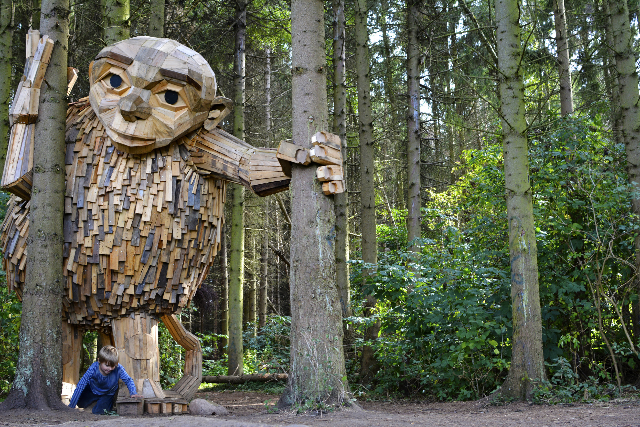 These friendly wooden giants are hidden in the woods of West Copenhagen - Lonely Planet Travel News. Article by James Gabriel Martin
