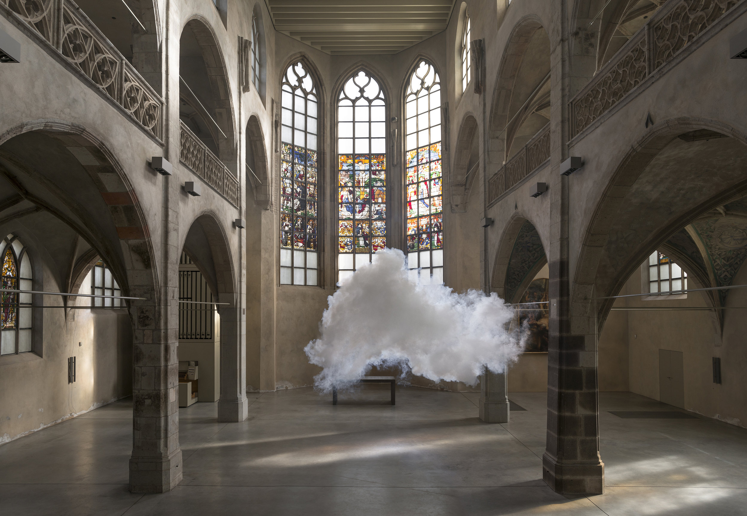 This artist creates miniature cloud installations in spaces around the world - Lonely Planet Travel News. Article by James Gabriel Martin