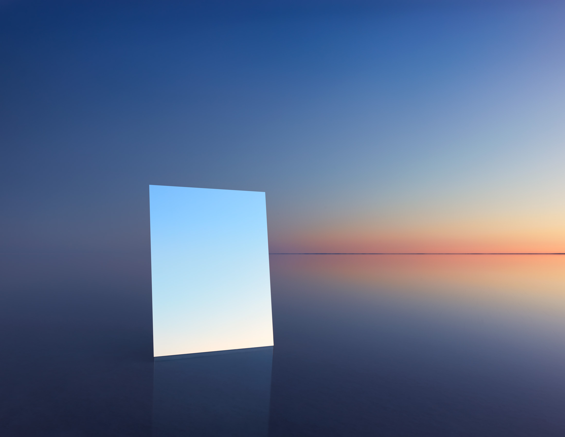This exhibition features stunning images of Australia's Lake Eyre reflected in mirrors - Lonely Planet Travel news. Article by James Gabriel Martin. Photographs by Murray Fredericks