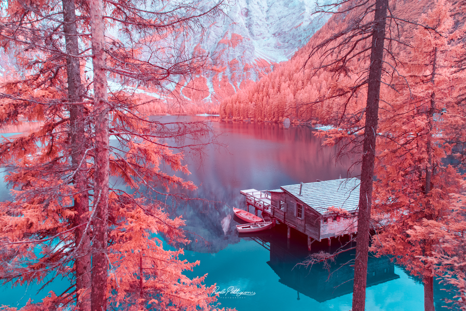 Italy's Dolomites captured in infrared - Lonely Planet Travel News. Article by James Gabriel Martin. Photographs by Paolo Pettigiani