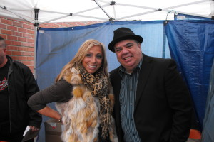 Rose with Comedian & friend Jimmy Labriola