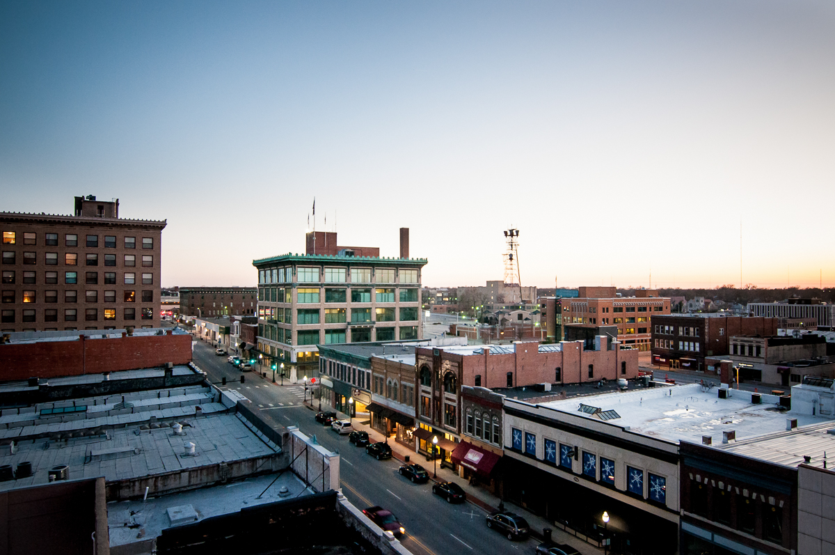 downtown Joplin MO, image by Mark N photography