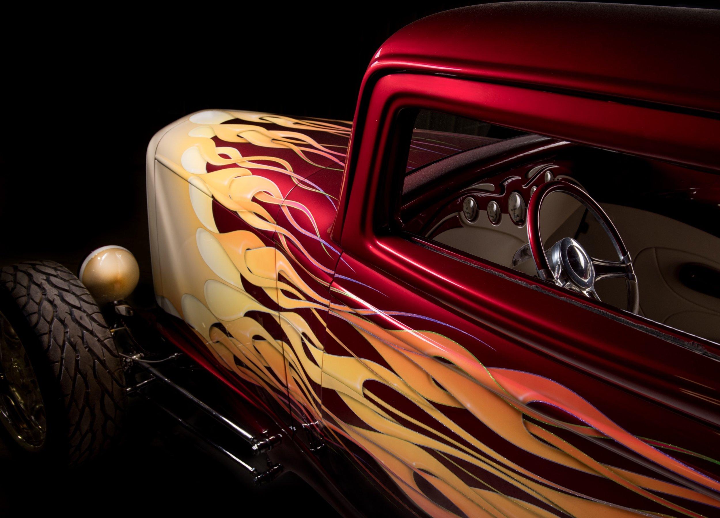 Decades of wheels hot rod paint job car photo.jpeg