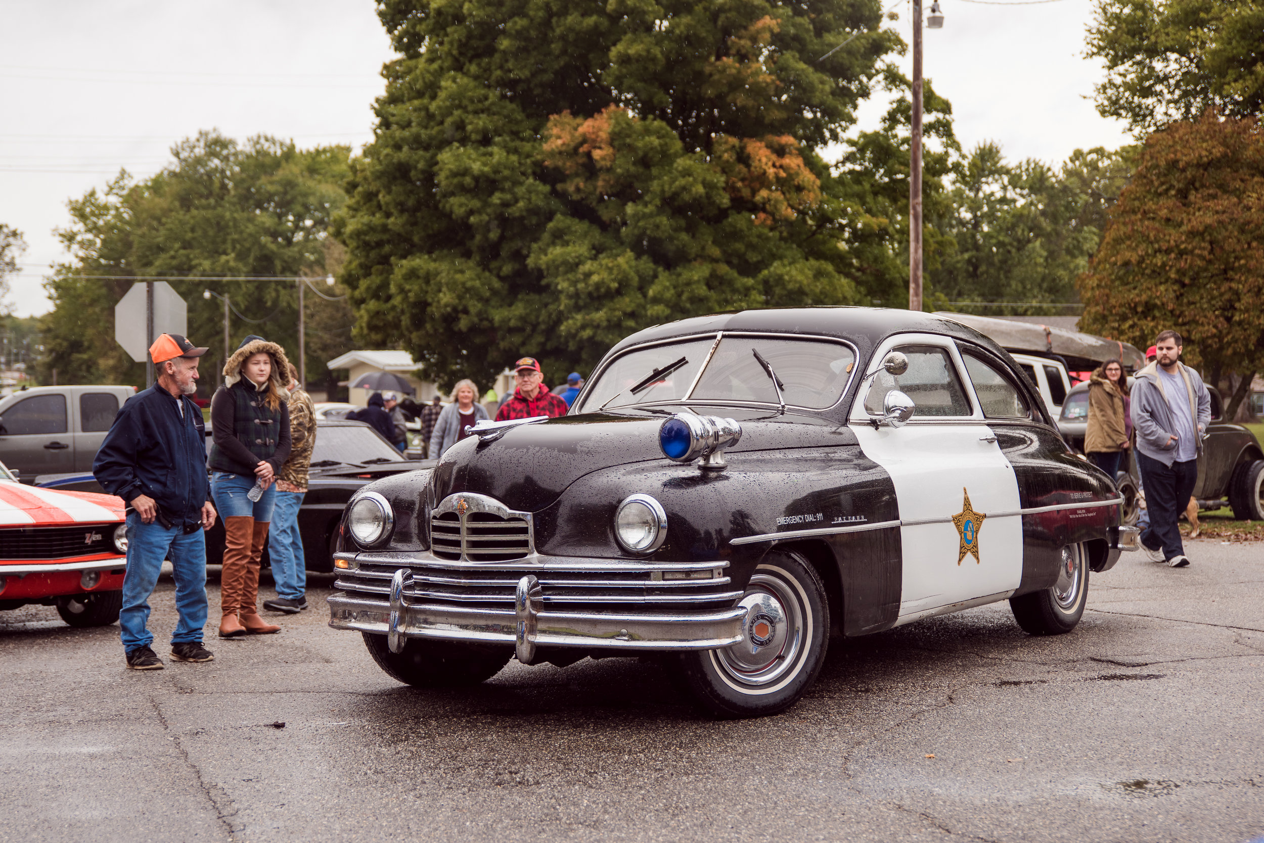historic vehicle sheriff's car at baxter springs car show.jpg