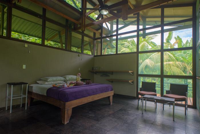 Modern accommodations yoga retreat costa rica