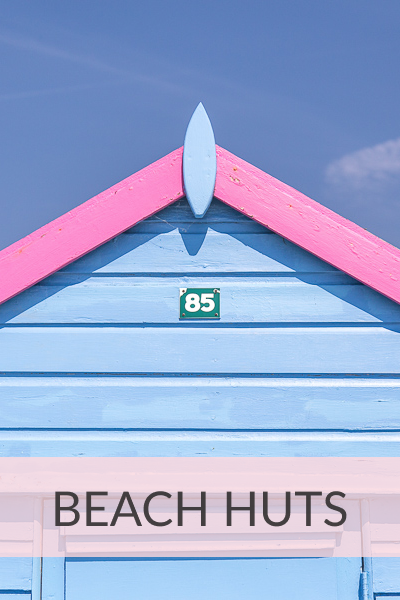 Buy Zoe Power's photographs of Beach Huts from RedBubble