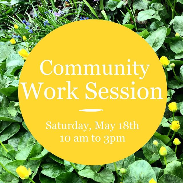 Join us tomorrow for our monthly work session, 10 am - 3 pm. If you are thinking on join our garden, this is a great way to learn what needs to be done, meet old time members and get some hours towards the process of becoming a member. #communitygarden #bedstuybrooklyn #bedstuy #communityfirst