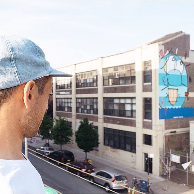 It feels like yesterday that artist #timothycurtis collaborated with us in #bushwick on #BogartStreet where he installed this #mural #flashbackfriday #thebogartlofts