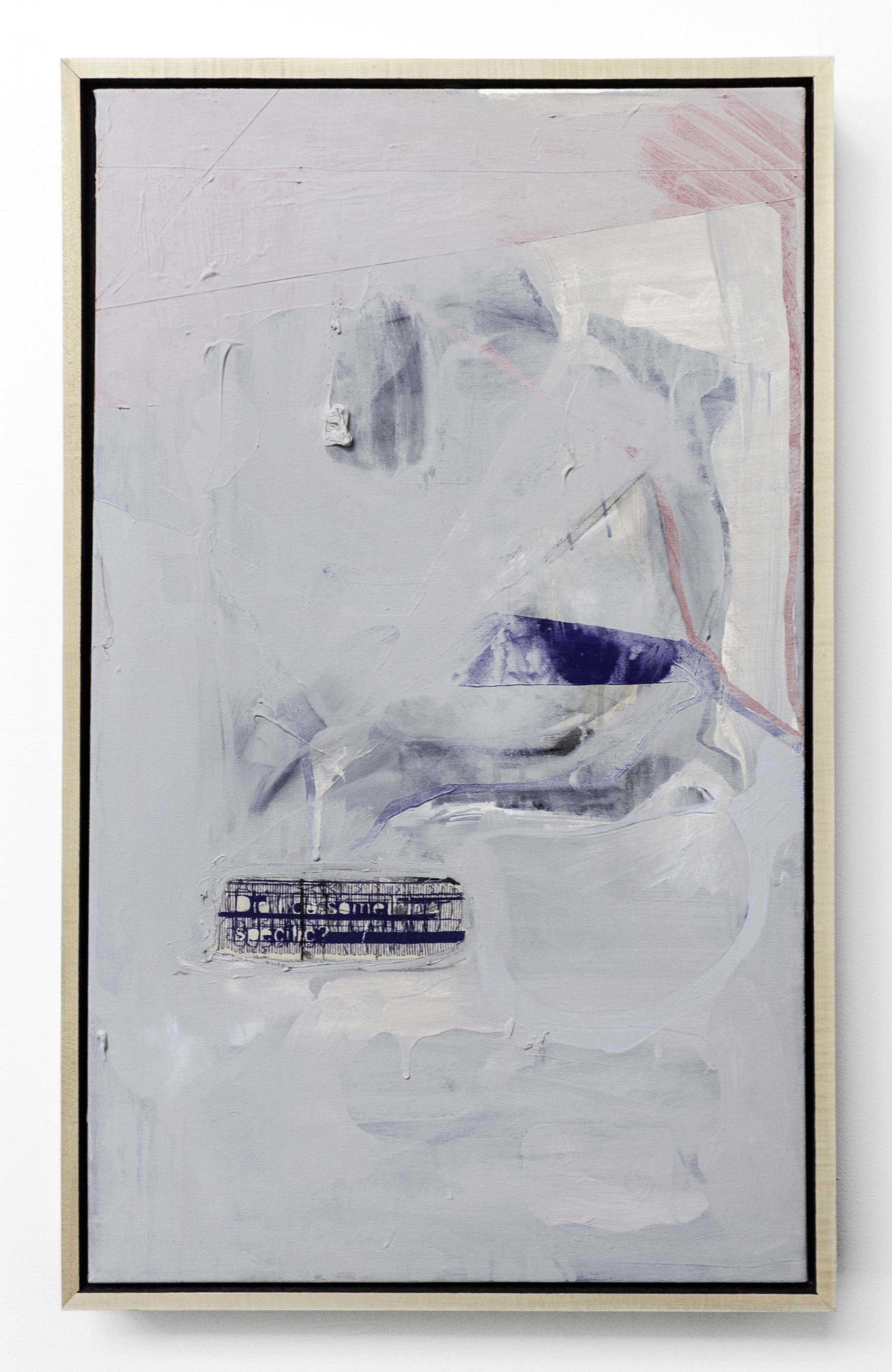 TERRY BOYD | DID I DO SOMETHING SPECIFIC | 36 x 22 in | SOLD