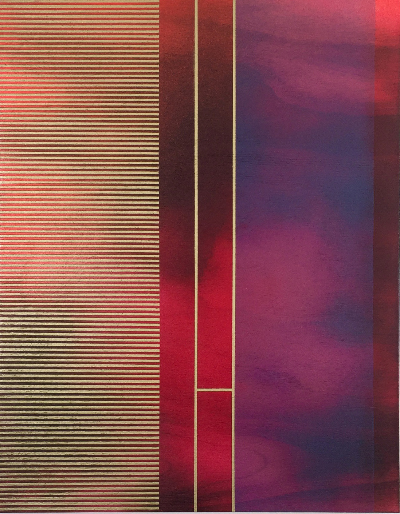 MELISA TAYLOR-METZGER, FROST AND DECIMALS IV, 14 x 11 inches | $400