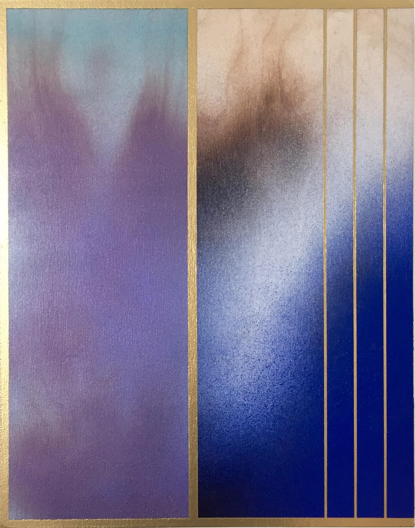 MELISA TAYLOR-METZGER, FROST AND DECIMALS IX, 14 x 11 inches | $400