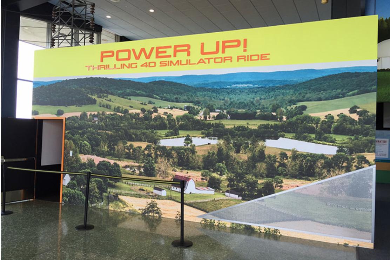 BPI NYPA Niagara Power Vista 4D simulator ride