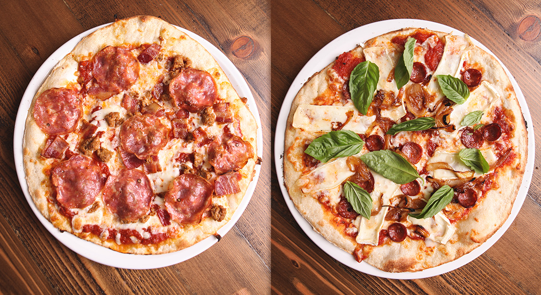 Genoa & Esca Pizza