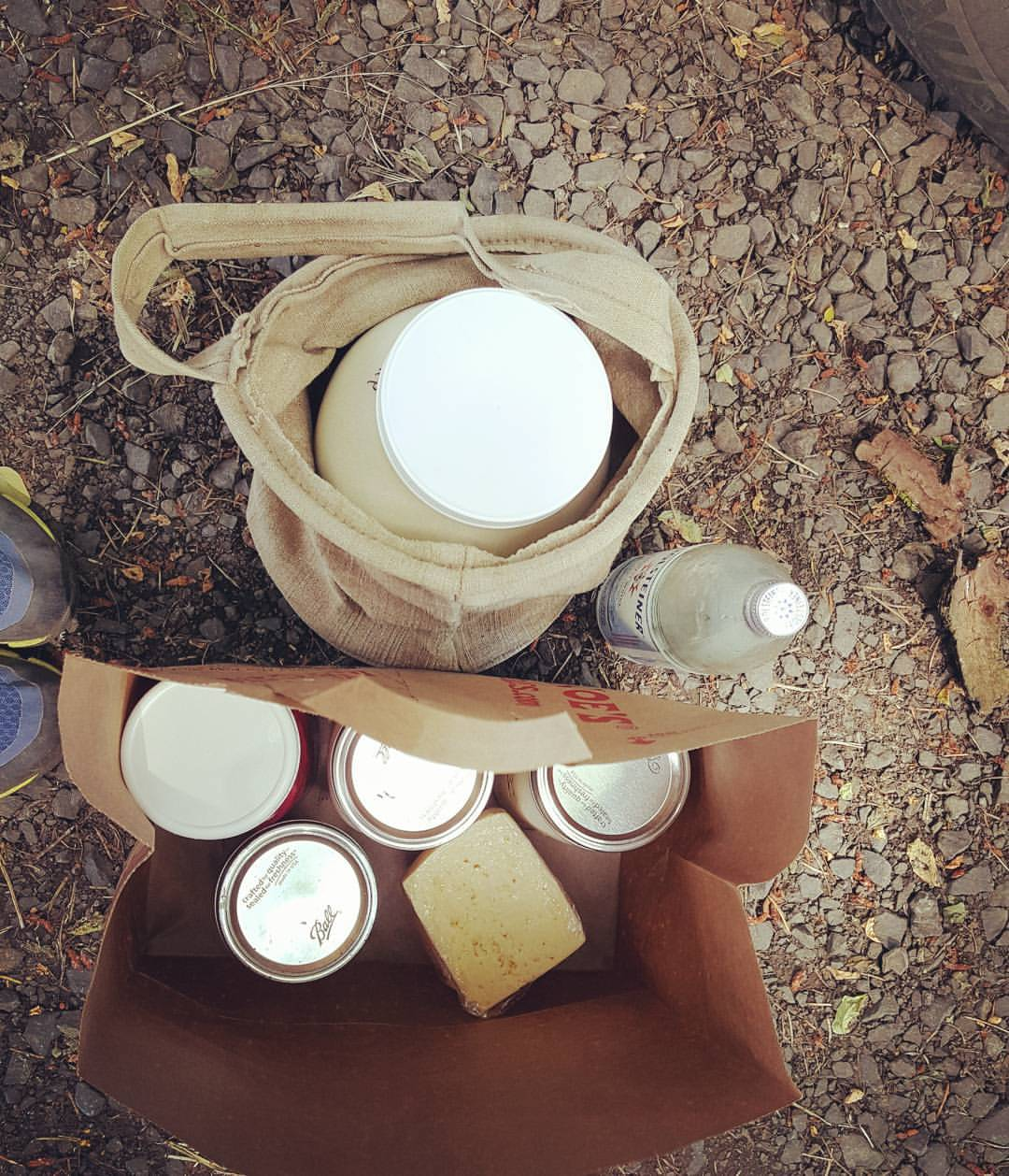 Raw Milk, Yogurt, Cheese, & other goodies from our local milk mama up the road.