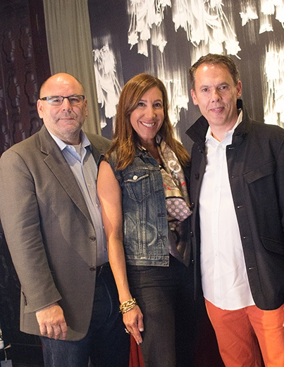 Ignacio Valero, Nina Mariano, and Adam Siegel
