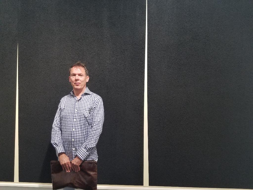 Adam Siegel at Art Basel