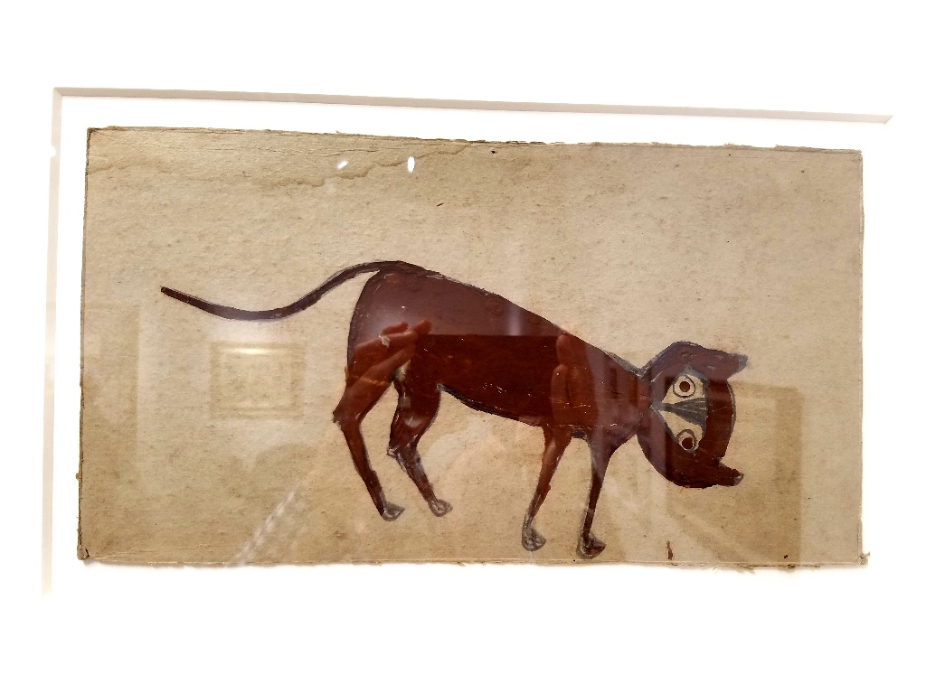 Bill Traylor at  Carl Hammer Gallery           Bill Traylor is my favorite artist of all time. He walks the delicate line between abstraction and figuration with a timeless sensibility grounded in the most humble materials.