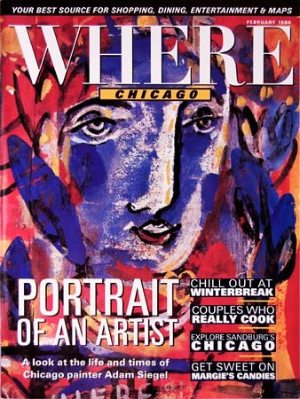 Where Magazine Adam Siegel
