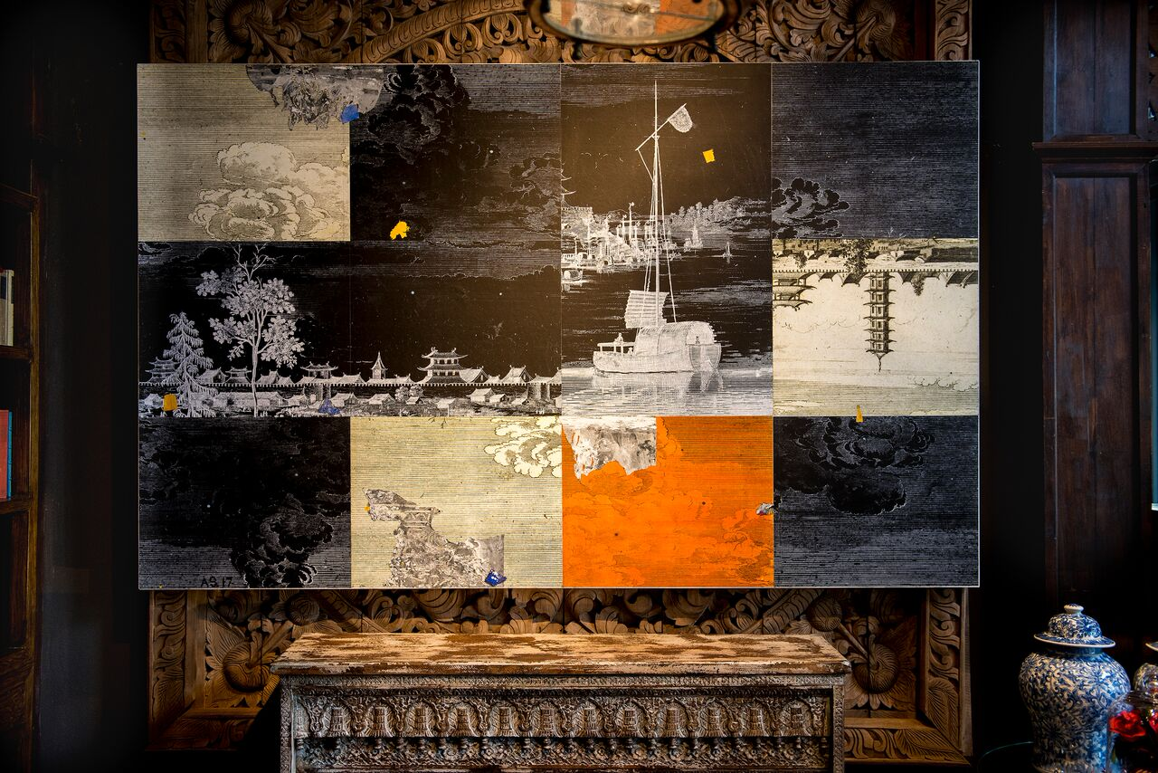 Day Into Night Series II. 5' x 8'.