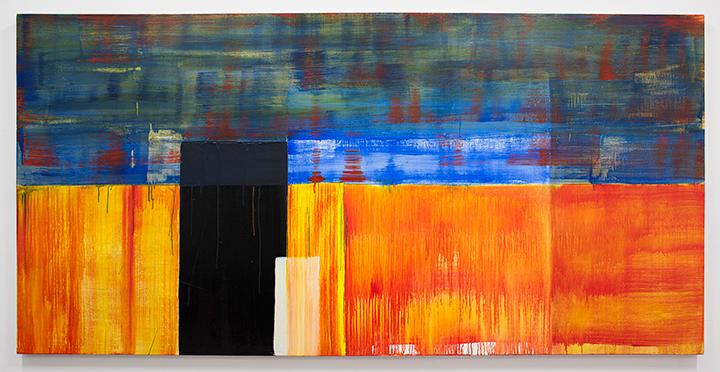"""Acrylic on canvas. 48"""" x 108"""""""