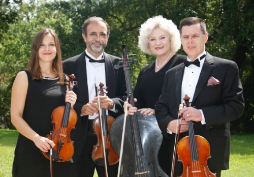 Pablo Donatti, Violin / Janis Garcia, Violin / Don Burell, Viola / Nancy Francis, Cello     OPus 4 on FAcebook