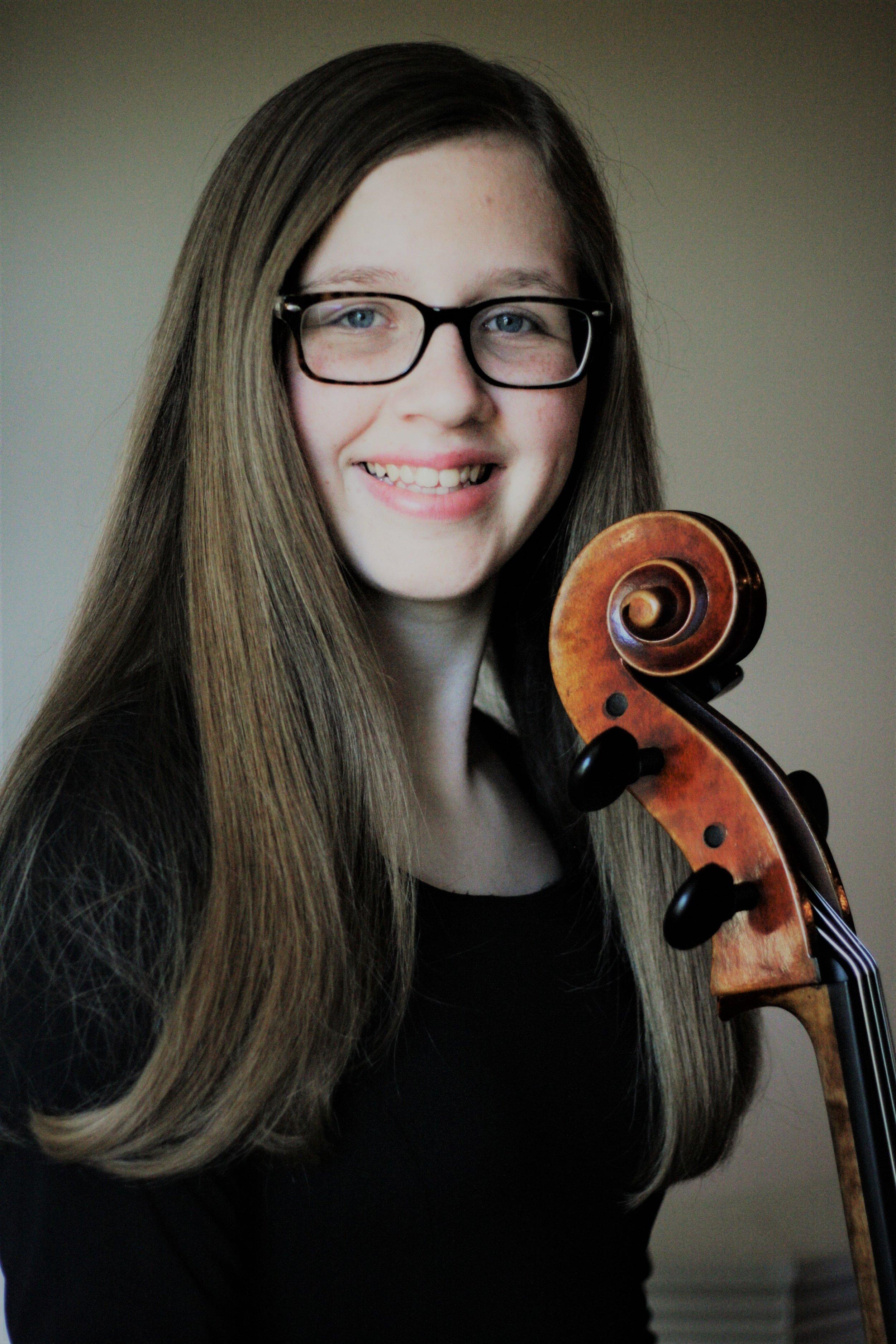 Lauren Mathews, Cello - YACC 2017-2018 Competition Winner