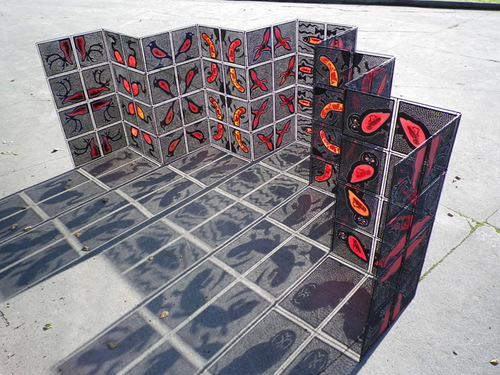 Turf Wars (as a floor installation)