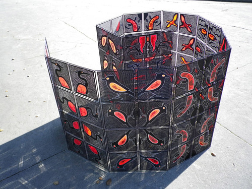Turf Wars (as a floor installation) 3