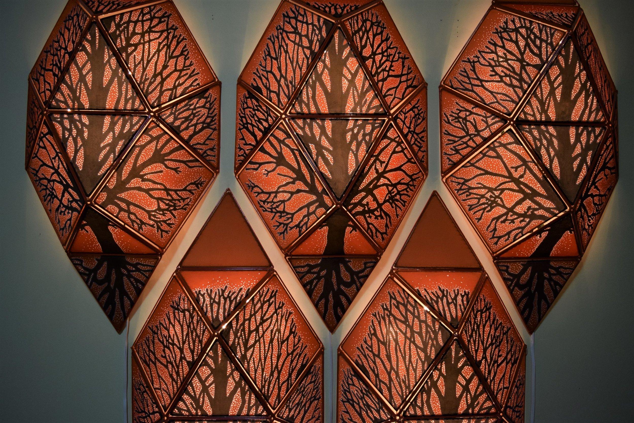 Beech Tree Quintet (detail).