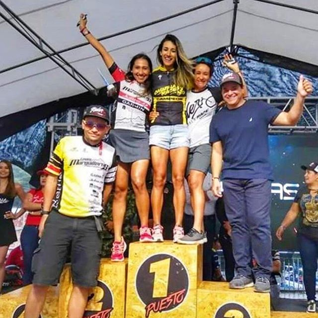 Monica's the 2019 Chapala Race Champion! @monicycling 🥇  @spazialecompositi  @sellesanmarco  @esigrips  @schwalbetires  @squirtlube_sa  @kafitt_sport  @zerounobikes @oakley  @ceetec_carbon @proto_brand_ @fizikofficial @crankbrothers @magurausa @nuunhydration . #factoryrider #mtb #mtbseries #epic #ridezerouno #womens #ridespaziale #girl #zerounoracing #podium #athlete #biker #crosscountry #cyclistgirl #boom #factoryteam #standout #esigrips #kafittsport #sramaxs #spazialecompositi #zerounobikes #follownoone