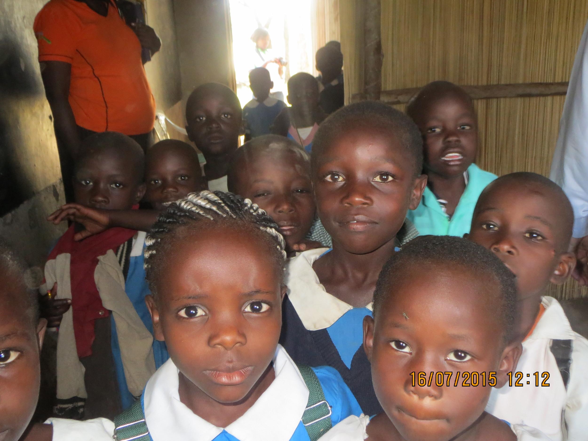 Children love school.