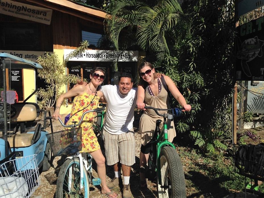 Eventually, we found our bikes.