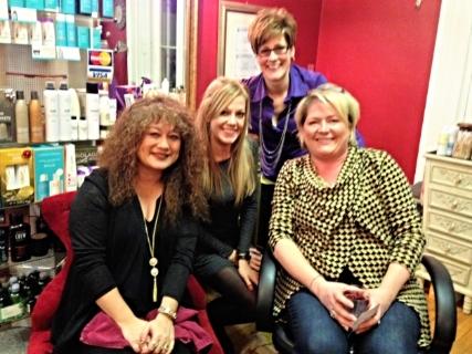 the ladies of Salon 241