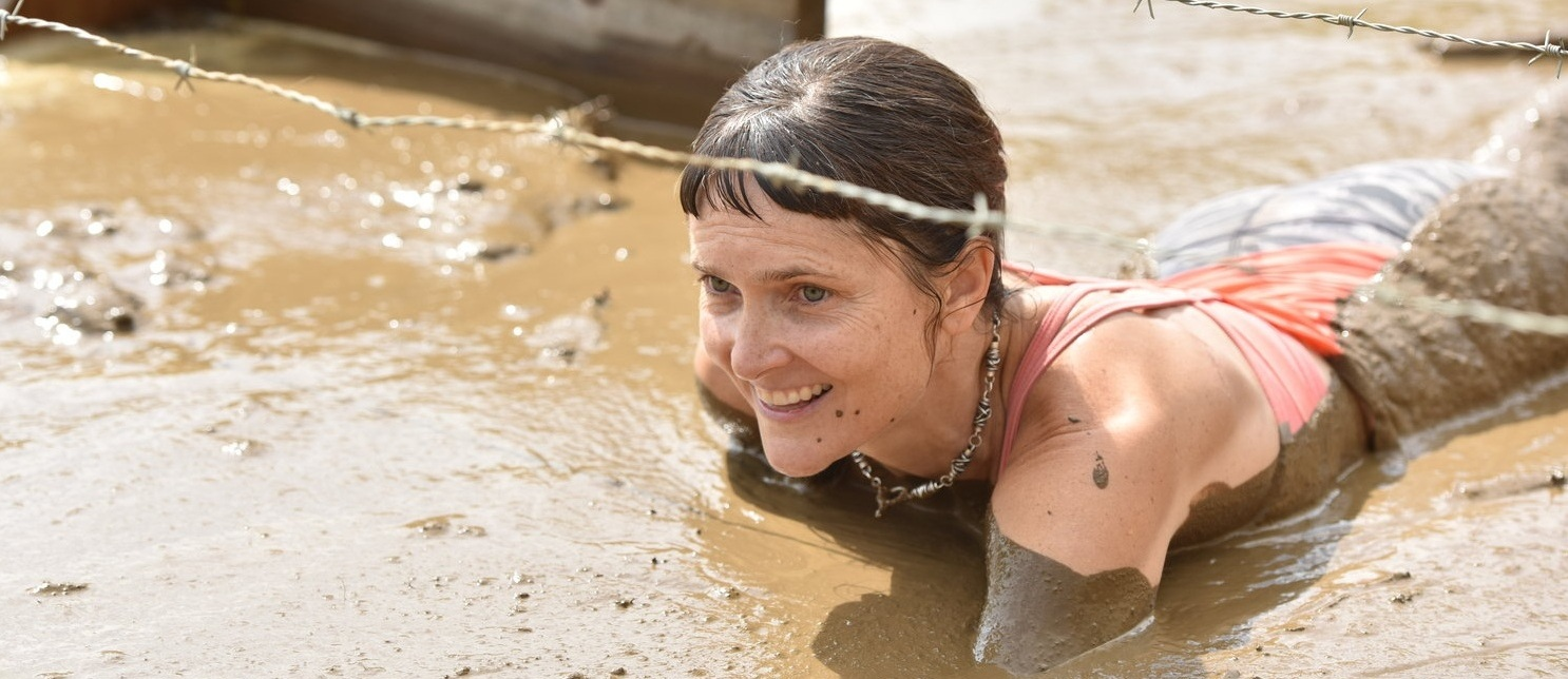 Holly at Tough Mountain Challenge. Pic courtesy of Midcoast Photo