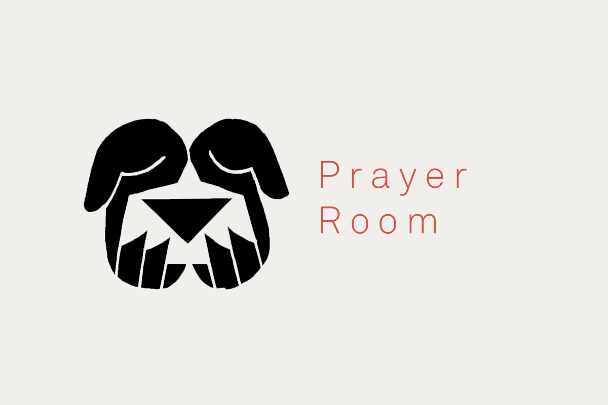 - Book a slot in the prayer room…