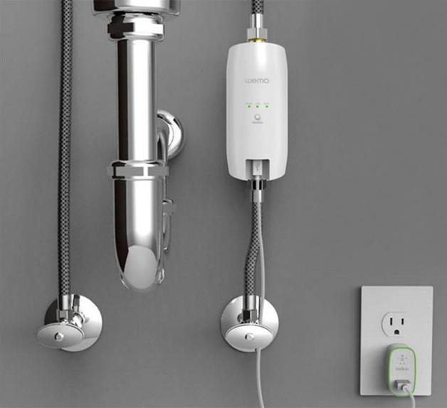 Monitor de consumo de agua de Belkin.
