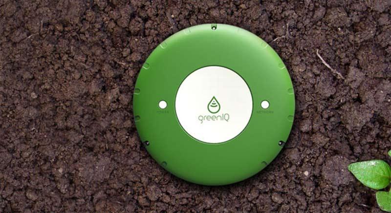 Centralita del sistema GreenIQ.